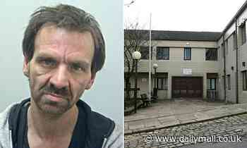 Drug addicted pervert, 45, who used homemade 'shoe cam' to film up girls' skirts is jailed