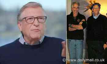 Bill Gates flounders as he is grilled on past dinners with pedophile Jeffrey Epstein
