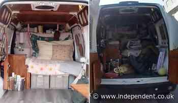 Bodycam footage shows chaotic interior of Gabby Petito's van