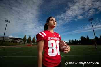 'I'm just proud of myself': SFU kicker Kristie Elliott makes college football history