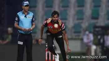 Coronavirus Scare in IPL 2021 UAE Leg: Sunrisers Hyderabad player T Natarajan tests positive for Covid-19 - IWMBuzz