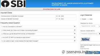 SBI Clerk Mains Admit Card 2021 released: Check how to download from sbi.co.in