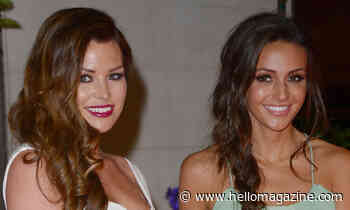 Jess Wright poses with bridesmaid Michelle Keegan on wedding day – in stunning outfits