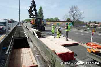 Vrouw gewond na aanrijding met vrachtwagen aan werken op E17 in Gentbrugge