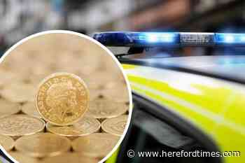 Herefordshire thief stole cash from woman's home