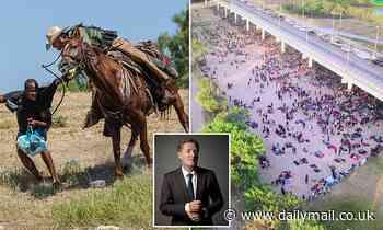 PIERS MORGAN:The sight of US border agent horsemen charging into Haitian migrants shames America