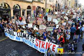 Friday climate protests planned across Scotland - The Scotsman