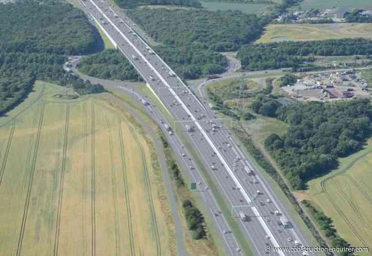 Five in race for £1.9bn Lower Thames Crossing road deals