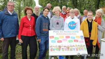 Platz der Kinderrechte: Das reiche Wedel kämpft mit Kinderarmut | shz.de - shz.de