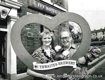 Love is in the air at the Ivy Hotel in Blackburn in 1993