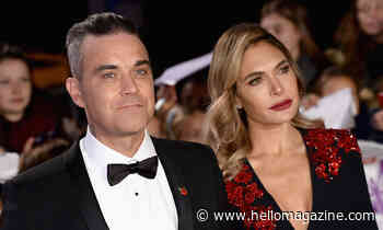 Ayda Field films big fitness achievement at home with Robbie Williams