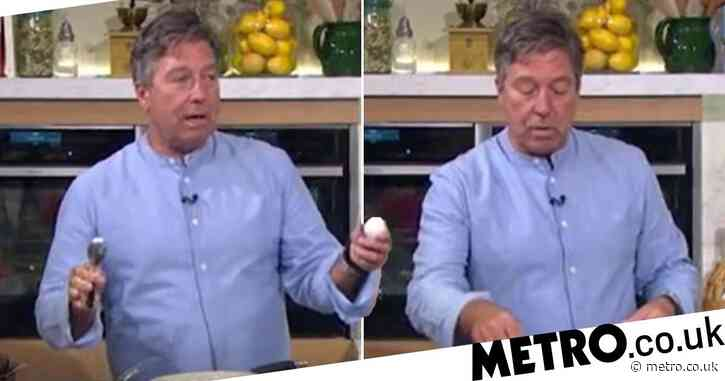 This Morning viewers bemused as John Torode teaches them to boil an egg: 'Hopefully tomorrow we can find out how to make toast'