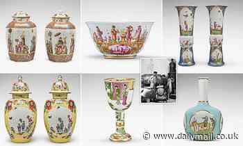 Stunning collection of German porcelain found by the Monuments Men sells for £10million