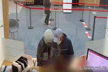 Fotofahndung nach Banküberfall in Münster
