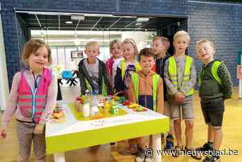 Leerlingen bezoeken tentoonstelling over gezonde tanden