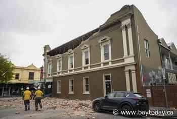 Magnitude 5.9 earthquake causes slight damage in Australia