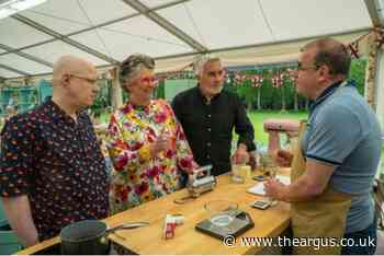 Great British Bake Off contestant from Sussex wins star baker in opening episode