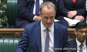 Rayner tell Raab to 'go back to your sunlounger' in PMQs battle of the deputies