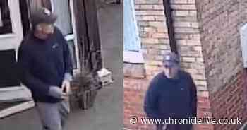 CCTV released after television is stolen in Newcastle care home burglary