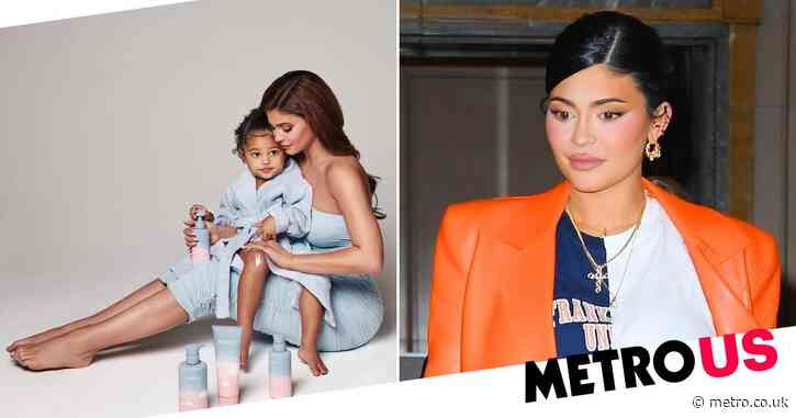 Kylie Jenner launches Kylie Baby as fans speculate she's having a boy