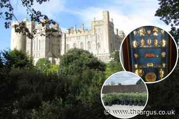Arundel Castle theft: Police dig up wasteland in search of stolen artefacts