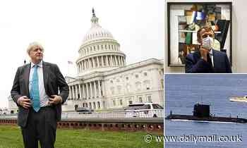 Boris Johnson dismisses French anger over AUKUS submarine deal