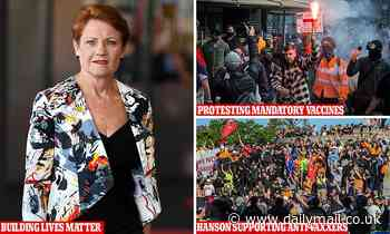 Read Pauline Hanson's controversial message supporting tradies who refuse mandatory Covid vaccines