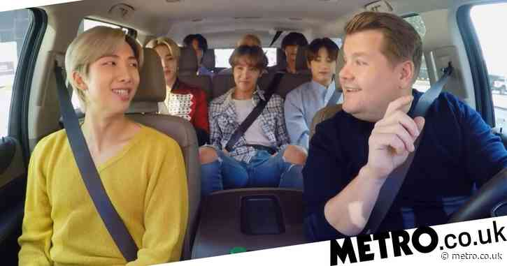 BTS ARMY accuse James Corden of using band for clout as he calls fans '15-year-old girls'