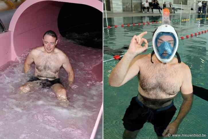 """Burgemeester Bart De Wever mag zwembad in gloednieuw sportcomplex als eerste testen: """"Ongelooflijk hard naar toegeleefd"""""""