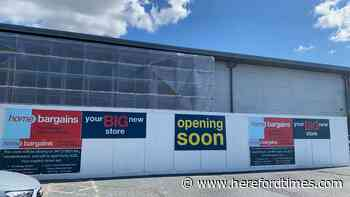 Home bargains in Hereford announce temporary closure