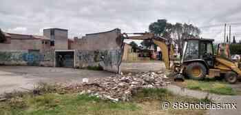 Rehabilitan el Parque del Fraccionamiento Santa Elena en Cuautitlán - 88.9 Noticias