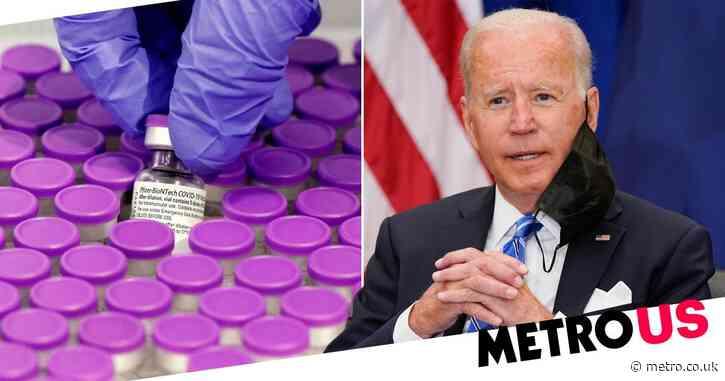 Joe Biden to host Covid summit and donate 500million Pfizer vaccines abroad