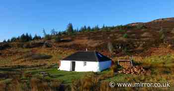 Home on remote Scottish island with just 100 people could be yours for £65,000