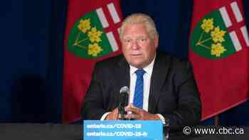 Ford to speak as Ontario's vaccine certificate system kicks in Wednesday