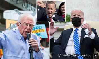 Biden will today host series of crisis meetings with Democrats over legislative agenda