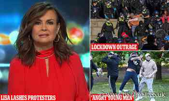 Lisa Wilkinson SLAMS Melbourne protesters claiming violent scenes have 'got them nowhere'