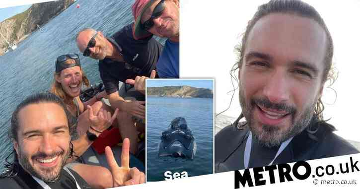 Joe Wicks' birthday trip goes awry as he has to be rescued from sea after jet board floods