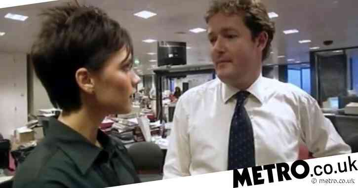 Victoria Beckham marches up to Piers Morgan for confrontation in unearthed clip: 'Are you taking the p**s?'