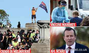 Covid-19 Australia: Protests, mandatory vaccines and the path to 80 per cent full vaccination rates