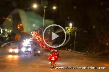 Monumental trancón entre el Topacio y Santa Ana: un caos en la movilidad de Ibagué - Ecos del Combeima