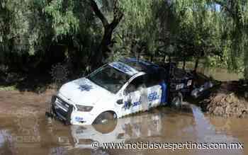 Corriente del río arrastra patrulla en Tajo de Santa Ana - Noticias Vespertinas