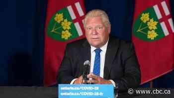 Ford speaks as Ontario's vaccine certificate system kicks in Wednesday