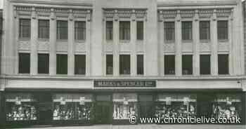A visit to Marks & Spencer on Newcastle's Northumberland Street - 1930s-style
