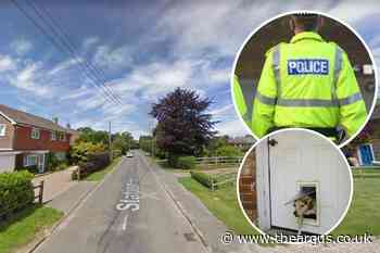 Dog flap used to enter house during burglary in Isfield