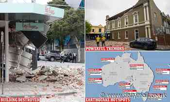 Australia's earthquake hotspots as Melbourne braces for aftershocks from 5.9 magnitude quake