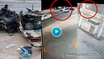 Aparecieron los videos del trágico choque en avenida Colón - Radio Suquia