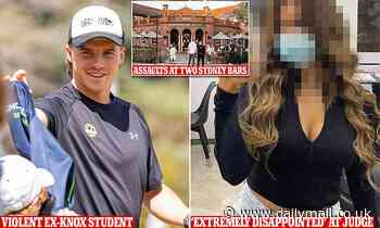 New details about Knox Grammar student who punched a woman he called a slut on a night out