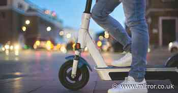 Man banned from driving for two years for drink-driving in city centre on an e-scooter