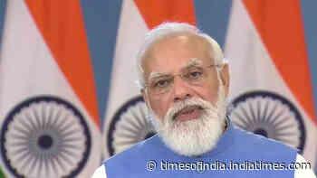 PM Narendra Modi addresses Global Covid-19 summit