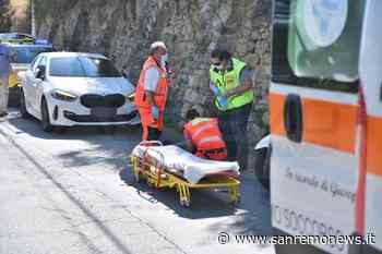Sanremo: investito da un camion 'pirata' in strada Sen. Marsaglia, uomo portato in ospedale (Foto) - SanremoNews.it